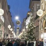 Shopping di Natale al Quadrilatero della Moda