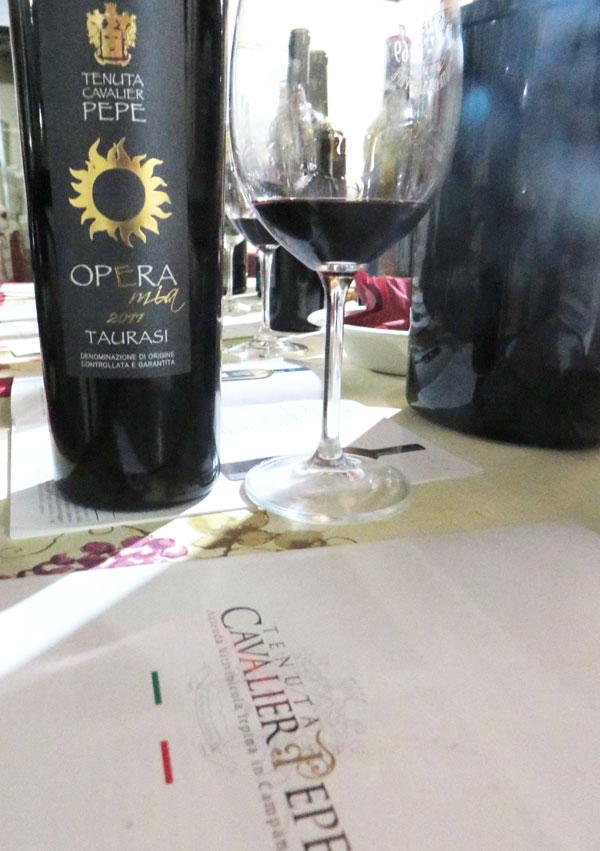 Cavalier Pepe una tenuta di ottimi vini