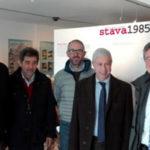 Commissario del Governo Gioffré in visita a Stava