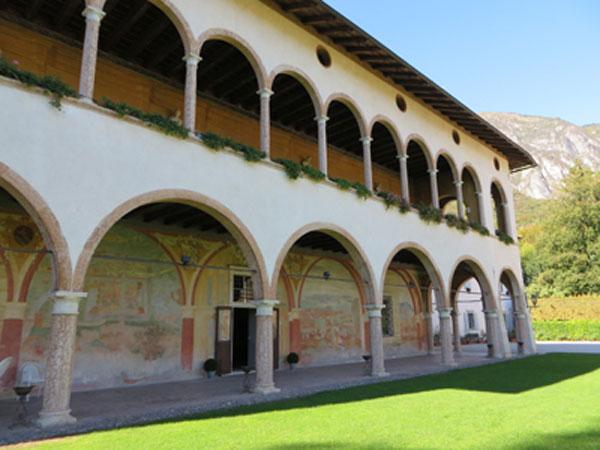 Gli affreschi di Villa Margon