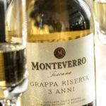 Grappa riserva Monteverro, tocco di panettone