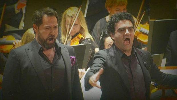 Duetto, un basso e un tenore: Abdrazakov - Villazòn
