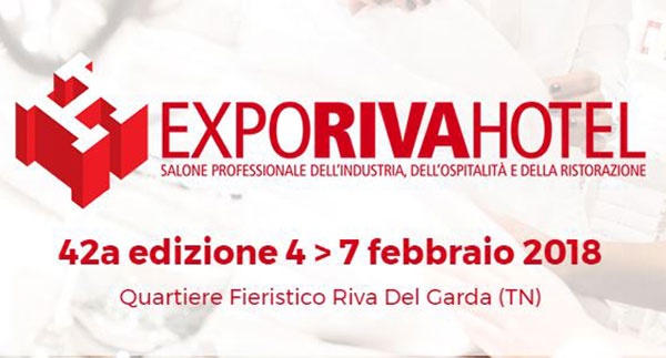 Expo Riva Hotel 2018, novità, appuntamenti