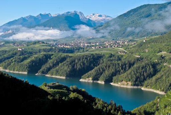 Val di Non, valorizzazione del Lago di S. Giustina