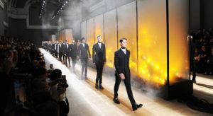 Nel New Look di Dior Homme culture anni 90