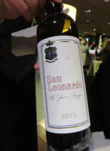 San Leonardo 2013, wine sorsi di eleganza