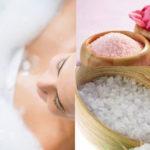 Bagni di sale, rimedio della nonna anticellulite