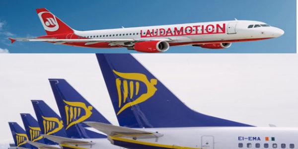 Ryanair accordo con Niki Lauda per Laudamotion
