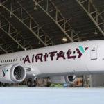 Decollo AirItaly, pronto il primo aereo