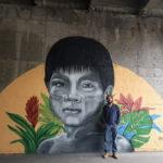 Jota Aracê, graffiti per Bressanone