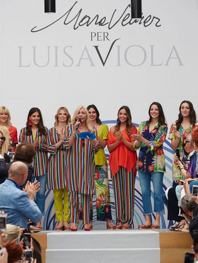 Mara Venier collezione estate per Luisa Viola - ViaCialdini b915df26d42