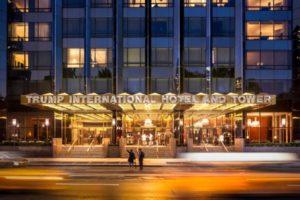 Trump Hotel come un sogno su Central Park