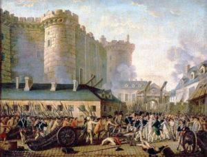 La presa della Bastiglia. Rivoluzione Francese