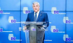 Antonio Tajani devolve la sua pensione in beneficenza