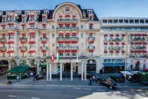 Lausanne Palace Hotel, intramontabile charme