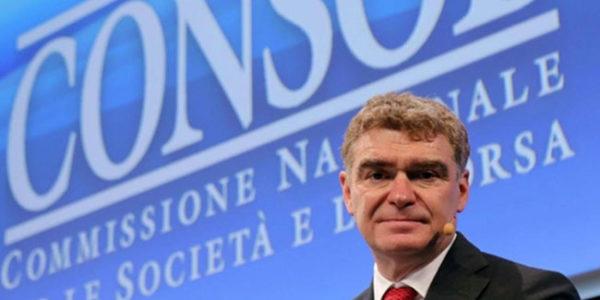 Consob dimissioni del presidente Mario Nava