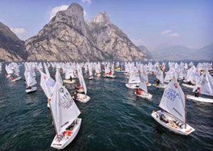 Vela a Riva del Garda i mondiali Optimist