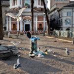Roma, dai piccioni segni inconfutabili di degrado
