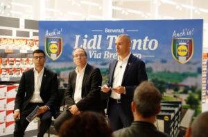 Lidl, in via Brennero, apertura a Trento