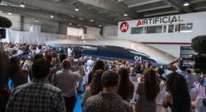 Capsula per passeggeri Quintero One di Hyperloop