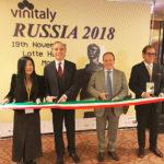 Vinitaly a Mosca e San Pietroburgo