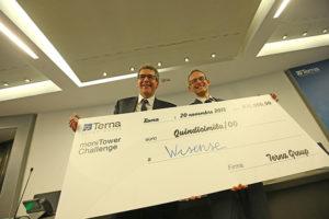Wisense, startup vincitrice di Monitower