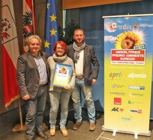 SAT vince Premio ambiente Euregio