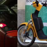 MiMoto e Italo, partnership, scooter condivisi