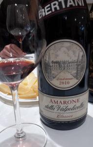 Amarone annata 2010, Bertani. 3118 giorni