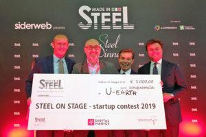 La Startup U-Earth Biotech Vince il Contest d'acciaio