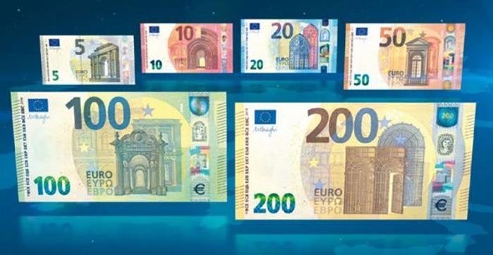 Due nuove banconote della serie Europa