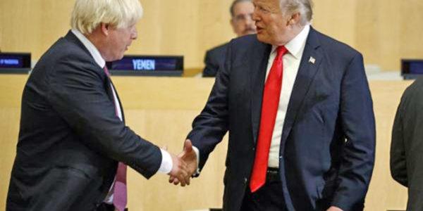Brexit, telefonata tra Trump e Johnson