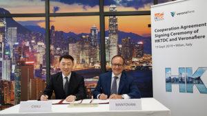 Veronafiere e l'Hong Kong Trade Development Council