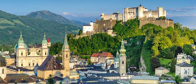 Città di Salisburgo, meta turistica top