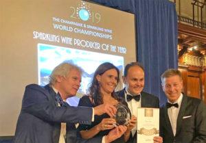 Cantine Ferrari successo a Londra, World Champion