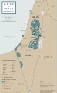 Israele Palestina presentato il piano di Pace