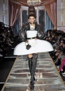 Moschino show e Marie Antoinette