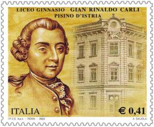 Gian Rinaldo Carli, idea di tradizione nazionale