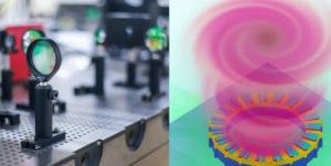 Laser micrometrico luce vorticosa