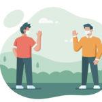 La distanza sanitaria e sociale