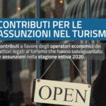 Contributi settore turismo per chi ha assunto