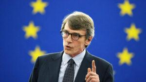 Sassoli, finanziamento bilancio UE più efficace