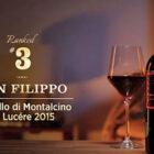 Brunello di Montalcino Le Lucére 2015 sul podio