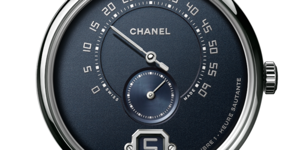 Eleganza in blu Monsieur di Chanel