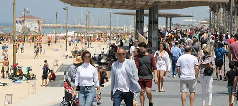 Israele, senza obbligo mascherina all'aperto