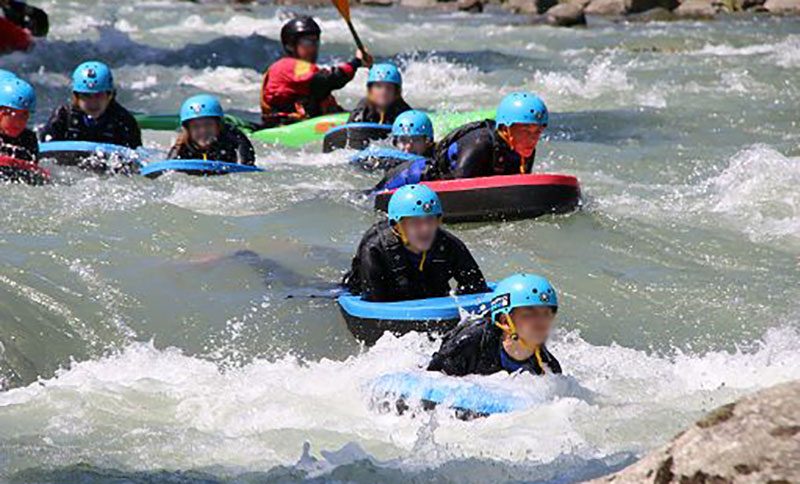 Val di Sole, rafting, canyoning, kneipp