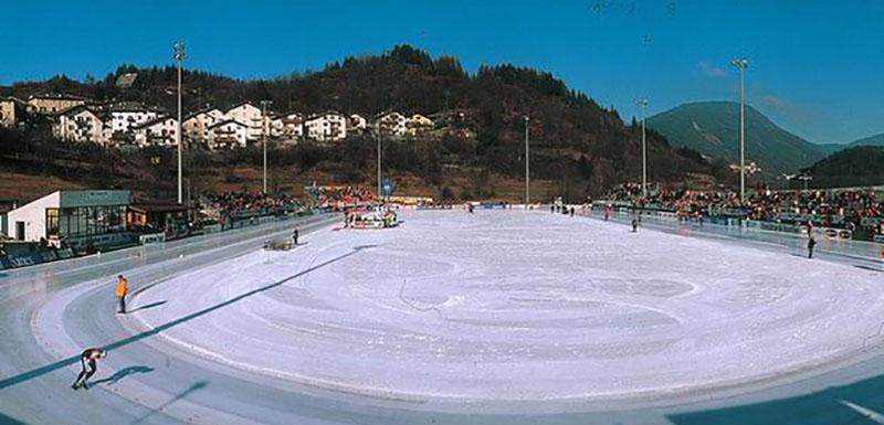 Pinè, polo del ghiaccio del Trentino