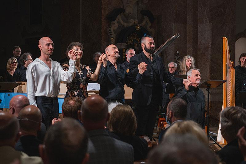 Salomon, Caino e Abel im Dom St. Jakob in Innsbruck